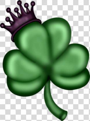 Shamrock Saint Patrick's Day 17 March Clover Clip Art - Saint Patrick's Day PNG