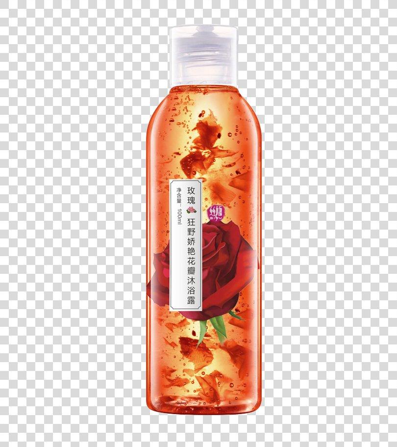 Shower Gel Bathing Soap Perfume, Rose Shower Gel PNG