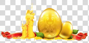 Easter Egg Paschal Greeting Clip Art - Happy Easter PNG