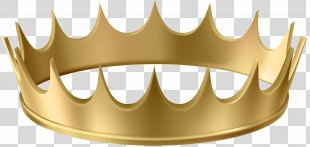 Crown Gold Clip Art - Gold Crown Transparent Clip Art Image PNG