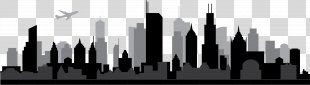 Chicago Skyline Silhouette - Skyline PNG