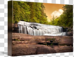 Waterfall Looking Glass Falls Landscape Nature Stream - Mountain Waterfall PNG