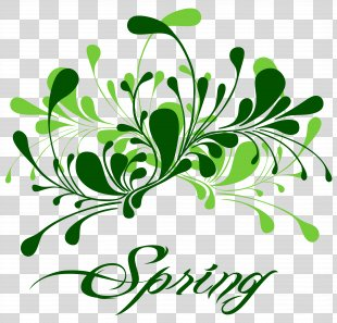 Spring Clip Art - Spring Green Cliparts PNG