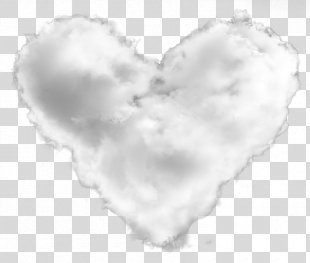 White Heart Sky Plc - Heart-shaped Clouds PNG