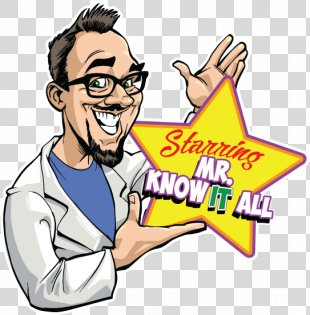 Mr. Know-It-All Mr. Know It All Drawing Clip Art - Mr Know It All PNG