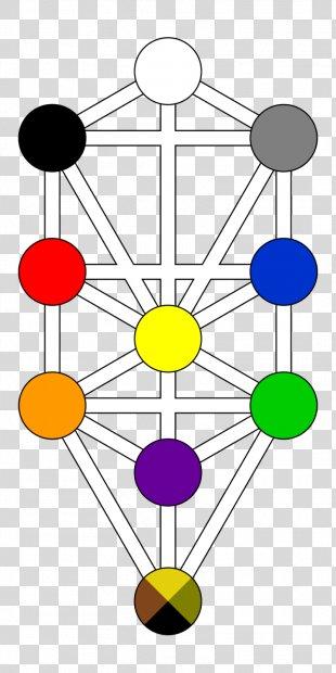 Tree Of Life Kabbalah Hermetic Qabalah Sefirot Major Arcana - Tree Of Life PNG
