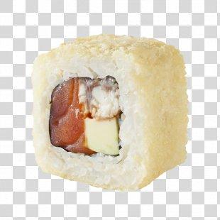 California Roll Sushi Tempura Japanese Cuisine Makizushi - Sushi PNG