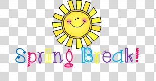 Clip Art Spring Break School Image - Spring Break PNG