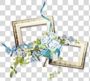 Floral Design Cut Flowers Picture Frames - Flower PNG