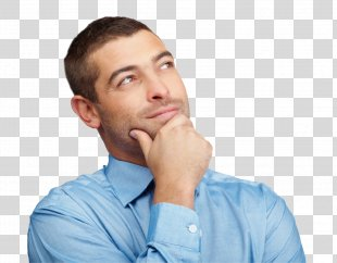 Man Thinking Thought Clip Art - Thinking Man PNG