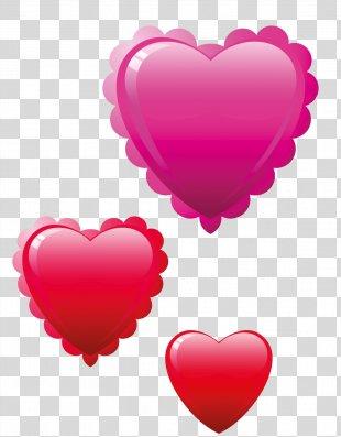 Valentine's Day Heart Birthday Clip Art - Valentine's Day PNG
