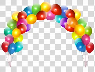 Balloon Birthday Cake Party Clip Art - Birthday Balloons PNG