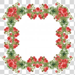 Picture Frames Flower Clip Art - Picture PNG
