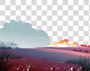 Euclidean Vector Wallpaper - Vector Hand-drawn Battlefield PNG