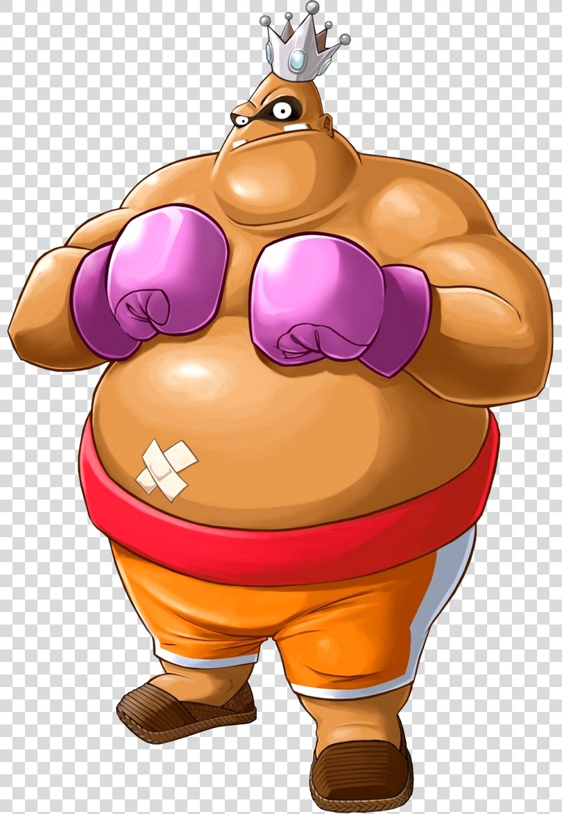 Punch-Out!! King Hippo Boxing Character Little Mac, Hippo PNG