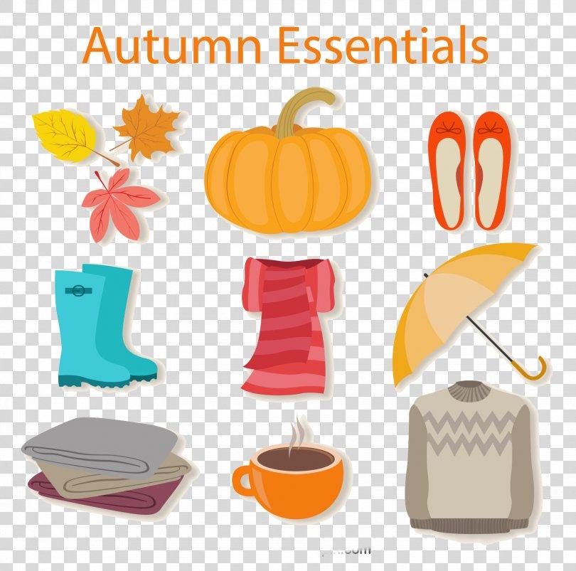 Autumn Icon, 9 Autumn Element Icon PNG