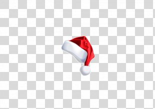 Red Wallpaper - Real Christmas Santa Hat Element PNG