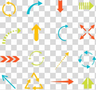 Arrow Euclidean Vector Icon - A Variety Of Shapes Arrow PNG