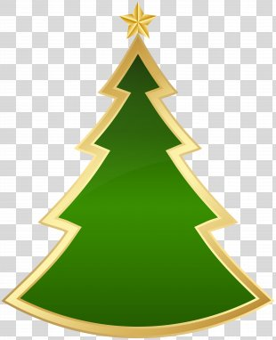Christmas Tree Clip Art - Christmas Deco Tree Clip Art Image PNG