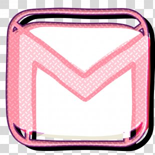 Communication Icon Contact Icon Email Icon - Pink Message Icon PNG
