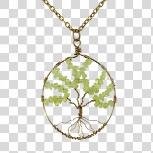 Locket Necklace Body Jewellery Tree Of Life - Tree Of Life PNG
