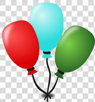 Birthday Cake Party Clip Art - Balon PNG