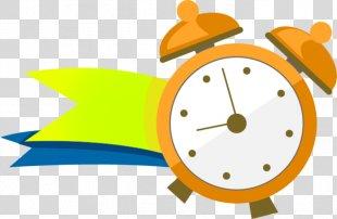 Alarm Clock Cartoon Clip Art - Alarm Clock PNG