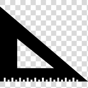 Set Square Ruler Triangle - Studio Vector PNG