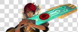 Transistor PlayStation 4 Bastion Video Game Supergiant Games - Games PNG