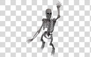 Skeleton Joint Poser Rendering - Skeleton PNG