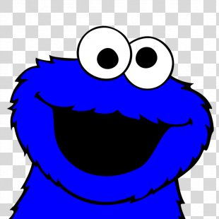 Cookie Monster Chocolate Chip Cookie Biscuits Clip Art - Cookie Monster Clipart PNG
