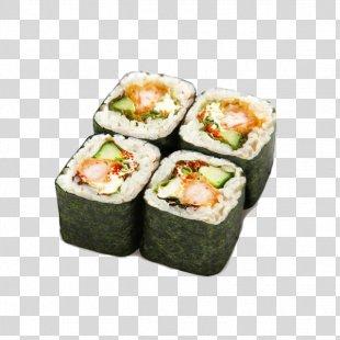 Sushi Makizushi Pizza California Roll Tempura - Sushi PNG