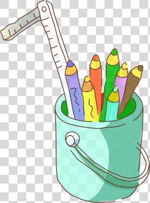 Pencil Clip Art - Hand-painted Pen PNG