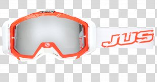 Goggles Glasses Red Motocross Blue - GOGGLES PNG