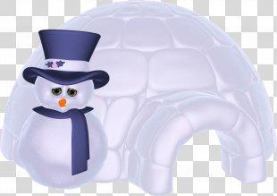 Igloo Snowman Christmas Clip Art - Igloo PNG