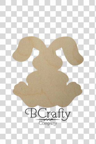 Easter Bunny Rabbit WoodenLetters.com Paper BCrafty - DIY Bunny Ears Craft PNG