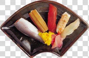 Sushi Sashimi Japanese Cuisine Makizushi - Exquisite Sushi Wobble PNG