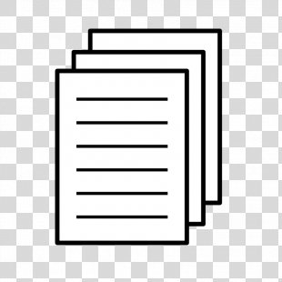 Paper Document Icon - Paper Icon Cliparts PNG