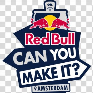 Red Bull Can You Make It YouTube Energy Drink Beverage Can - You Made It PNG