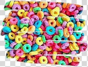 Kellogg's Froot Loops Breakfast Cereal Food Fruit - Breakfast PNG