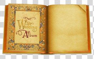 Wedding Invitation Marriage - Creative Wedding Commemorative Book PNG