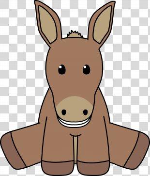 Donkey Smile Clip Art - Donkey PNG