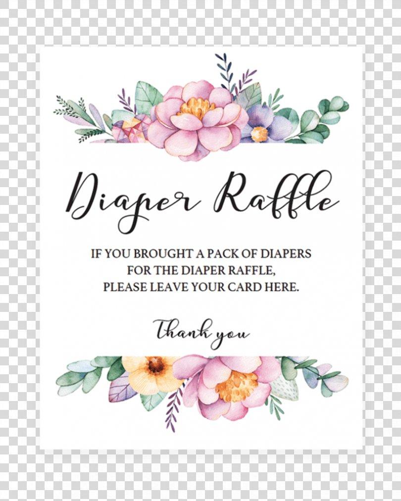 Diaper Cake Wedding Invitation Baby Shower Raffle, Raffle Tickets PNG, Free Download