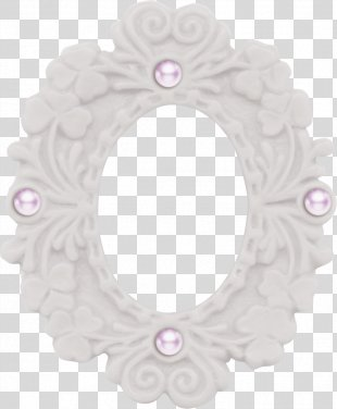 White Pearl Icon - White Frame Material PNG
