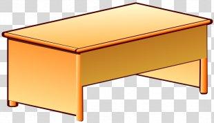 Desk Table Nuvola Clip Art - Desk PNG
