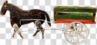 Horse And Buggy Carriage - Horse PNG