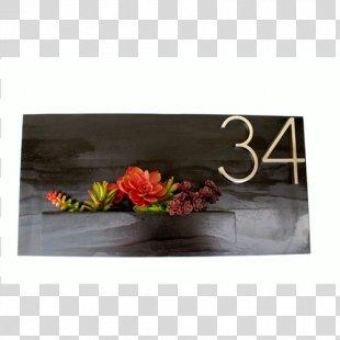 Floral Design Artificial Flower Picture Frames - Design PNG