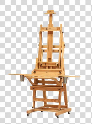 Easel Table Oil Painting Canvas - Table PNG