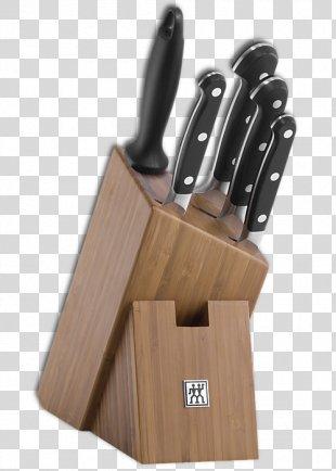 Zwilling Natural Wood Knife Block Zwilling J. A. Henckels Kitchen Knives - Knife Block PNG