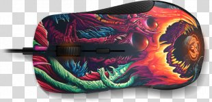 Counter-Strike: Global Offensive Computer Mouse SteelSeries Rival 300 Gamer - Counter Strike Global Offensive Trailer PNG